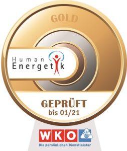 WKO Gold-Siegel für Human Emergetik